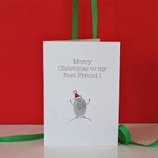 best christmas cards best friend christmas card by adam regester design
