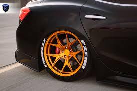 maserati gold 2015 maserati ghibli u2013 rohana wheels