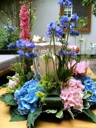 a summer garden party flower arranging evening at the interflora
