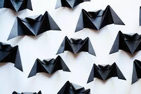origami origami bat tom defoirdt halloween origami bat