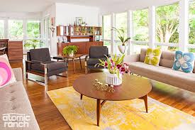 Living Room Furniture North Carolina by Colorful Mid Mod Details And Furniture Stories Of A North Carolina