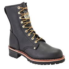 Are Logger Boots Comfortable Georgia Boots Men U0027s 8