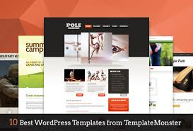 10 best wordpress templates from templatemonster dealfuel