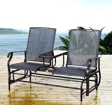Swivel Rocking Chairs For Patio Patio Furniture Rockers Atlantis Swivel Rocker Club Chair Patio