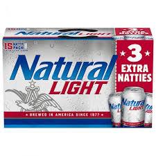 Natural Light | natural light 15 pack 12 oz can dollar general