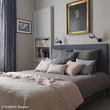 Elle Bedrooms by Une Chambre Rose Et Grise Le Gris Toujours Aussi Tendance