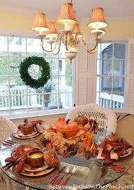 autumn table setting with roasted pumpkin soup pumpkin casserole