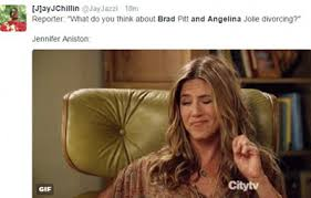 Memes About Divorce - lol hilarious jennifer aniston memes flood twitter over brad and