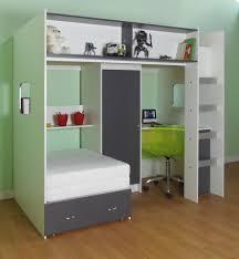 loft style high sleeper bed rutland white or white grey or white