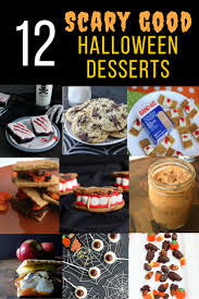 scary good desserts for halloween sinful nutrition