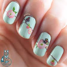 spring flower nail art nailzini a nail art blog