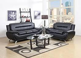 Leather Sofa Sets Gtu Furniture Contemporary Bonded Leather Sofa