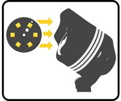 brass bully shielded integrated led well light volt lighting