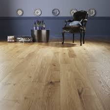 premier solid oak wood flooring with incorporated underlay