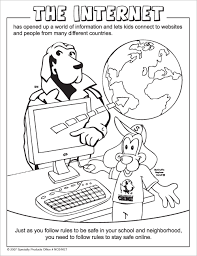 mcgruff crime dog internet safety coloring book mcgruff