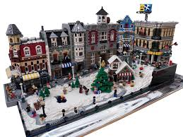 Christmas Village Sets 25 Unique Lego Christmas Village Ideas On Pinterest Lemax