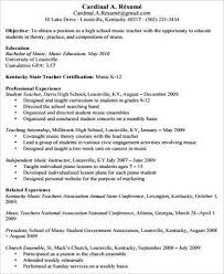 Piano Teacher Resume Sample by Music Teacher Resume Resume Show Me An Example Of A Cover Letter