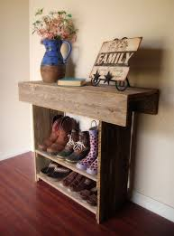 reclaimed wood wall table wood console table wooden entry way or wall table 36 x 12 x 30 wall