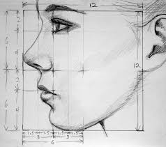 best 25 face profile drawing ideas on pinterest profile drawing