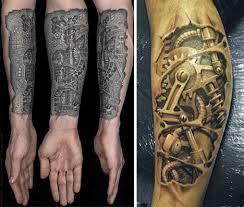 Machine Tattoo Ideas Cogs And Ink 28 Cool Steampunk Tattoo Designs That Wow Urbanist