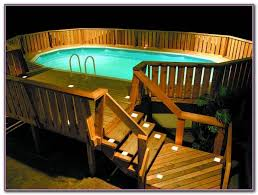 above ground pool deck designs free decks home decorating
