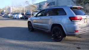jeep cherokee silver 2017 jeep grand cherokee altitude hc721763 silver redmond