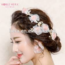 hair accessories headbands vintage wedding hair accessories flower headbands bridal earrings