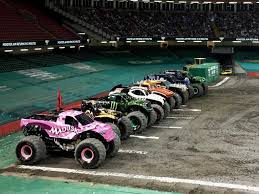 monster truck show baltimore arena baltimore post grave digger u samson with nickelodeon paw