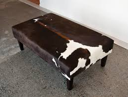 Room And Board Ottoman Furniture Real White Accent Wall Design With Cowhide Ottoman Also