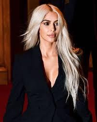 Kim Kardashian Hair Growth Pills Kardashian U0027s Platinum Hair Maintenance Secret Is Super Affordable