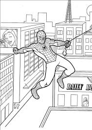 100 free spiderman coloring book pages sea