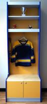sport locker yellow grey and blue sport locker for your kids