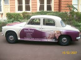 Home Instead by Home Instead Senior Care Classic Car Earns Its Keep The