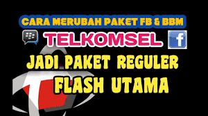 kuota bbm dan fb telkomsel cara menggunakan paket fb dan bbm telkomsel sebagai kuota flash atau