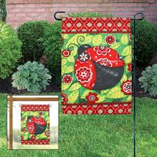 garden flags home outdoor decoration