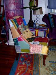 Patchwork Armchair For Sale Luxe Patchwork Chair Made By Julianne