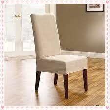 housses pour chaises 100 pcs surefit daim court à manger couverture de chaise housses