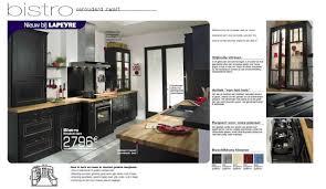 cuisine lapeyre bistro lapeyre sa promotion bistro verouderd zwart produit maison