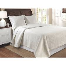 cottage cotton quilt set king taupe home
