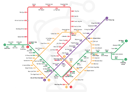 Singapore Mrt Map Singapore U0027s Mrt Network In Anagram Form Singapore