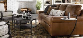 leather sofas living room furniture bassett furniture
