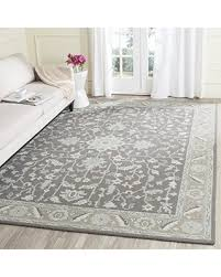 8x10 Wool Area Rugs Big Deal On Safavieh Blossom Collection Blm217a Handmade Oriental