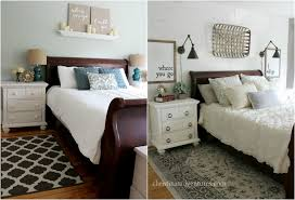Bedroom Before And After Makeover - farmhouse bedroom makeover christinas adventures