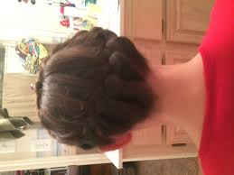 plait at back of head hairstyle 3 ways to make a crown braid wikihow