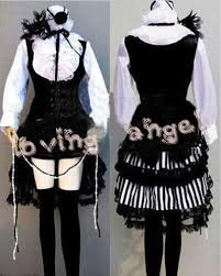 Halloween Butler Costume Black Butler Costume Cosplay Kuroshitsuji Ciel Dress Women