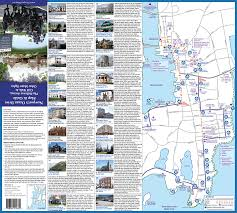 Rhode Island On Map Newport Ri Map And Guide Ocean Drive Bellevue Avenue Mansions