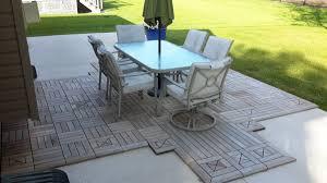 diy concrete patio ideas diy concrete patio awesome cheap patio furniture with cover