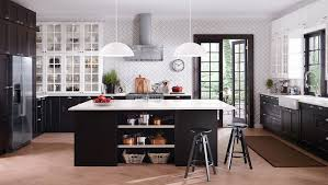 RAMSJÖ Blackbrown Kitchen AKURUMRAMSJÖ KITCHEN Whats Included - Ikea black kitchen cabinets