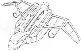 spaceship drawing cliparts co