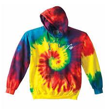 jake paul rainbow tie dye hoodie fanjoy